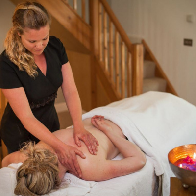 In cottage massage available