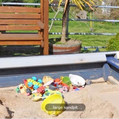 Large sandpit