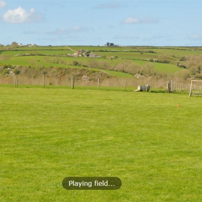 Large playing field