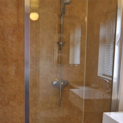 En-suite with large walk in shower