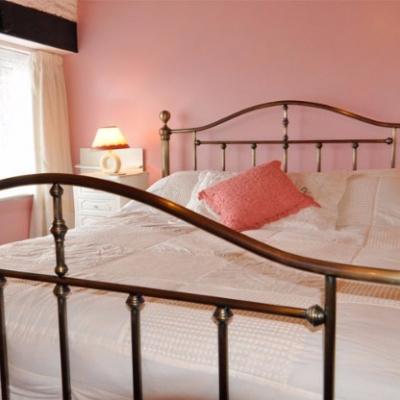 Light airy master bedroom