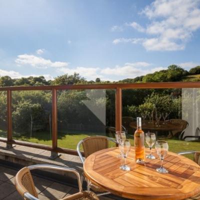 Private balcony to soak up the sun