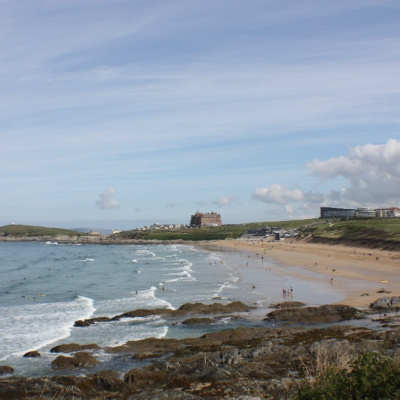 The Famous Fistral Beach