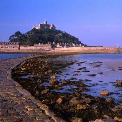 St Michaels mount is only a short distance