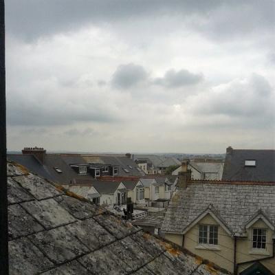 far-reaching views of Newquay