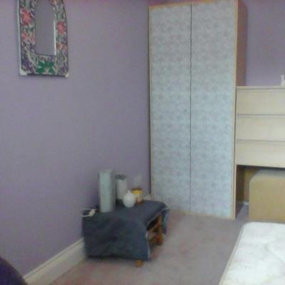 Airy ground floor room