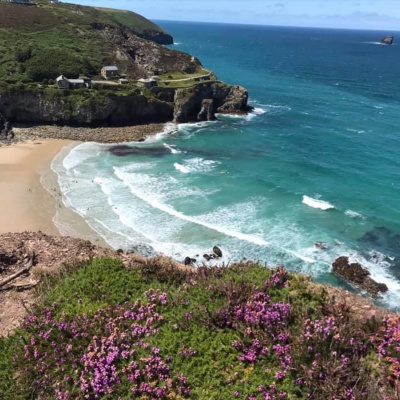 Trevaunance Cove - just five minutes away.
