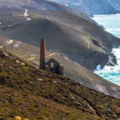 Wheal Coates engine house, just three miles away