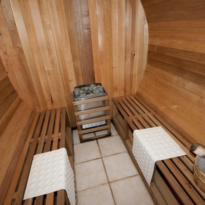 Shared sauna