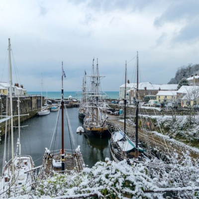 Winter in Charlestown
