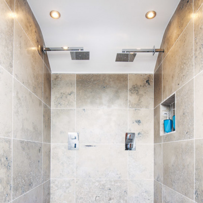 Large Waterfall Shower