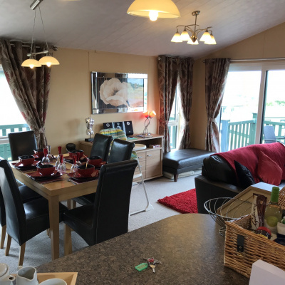 The living area lodge 284