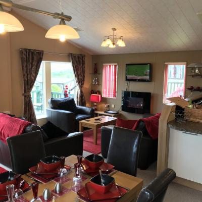 Living area lodge 284