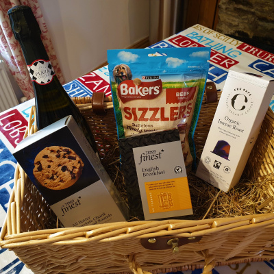 Welcome Basket provided