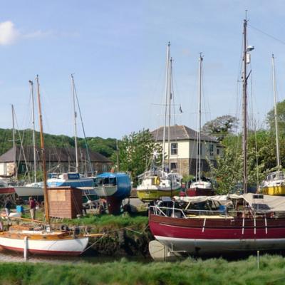 Gweek boatyard