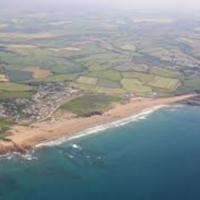Widemouth from the air