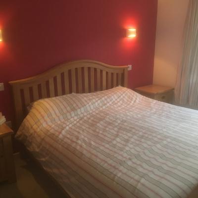 Master Bedroom Superking bed and en-suite.