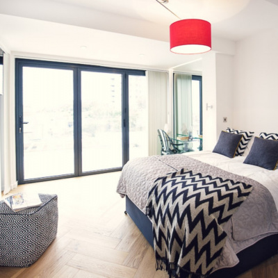 Double room with balcony and ensuite bath