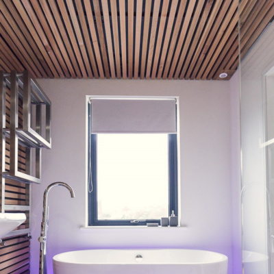 Master ensuite, freestanding tub and sea views