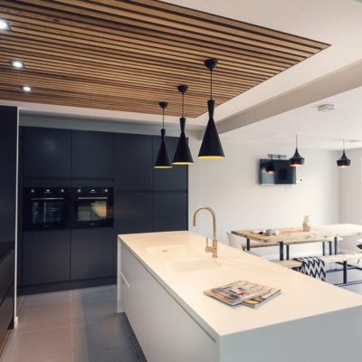 Beautiful kitchen with top of the line appliances