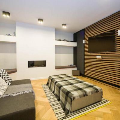 Snug style movie room