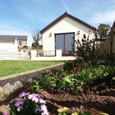 Annexe and own garden