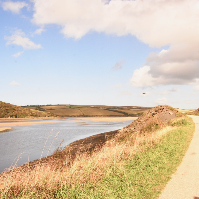 Cycle to Padstow along the Camel Estuary from Butterwell Farm