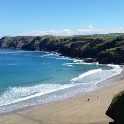 Benoath beach nr Tintagel