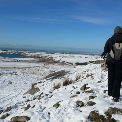 Winter on Bodmin Moor,only 1 mile away