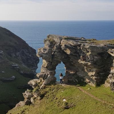 North Cornish Coast nr Boscastle