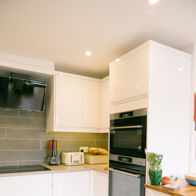 Integrated appliances at Sidings
