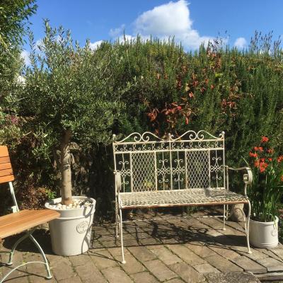 Sun traps in rear gardens