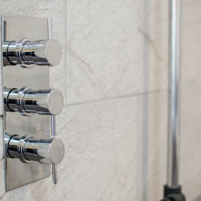 Modern bathroom fixtures