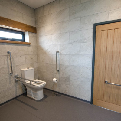 Accessible wetroom - joins to both Bedrooms