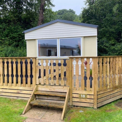 front view decking