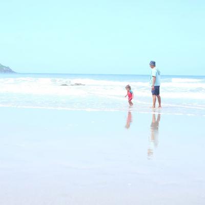 Lundy beach