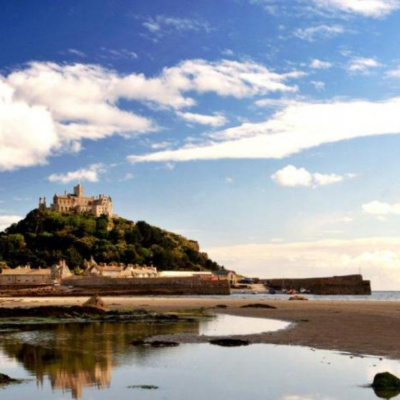 St Michael's Mount reflection