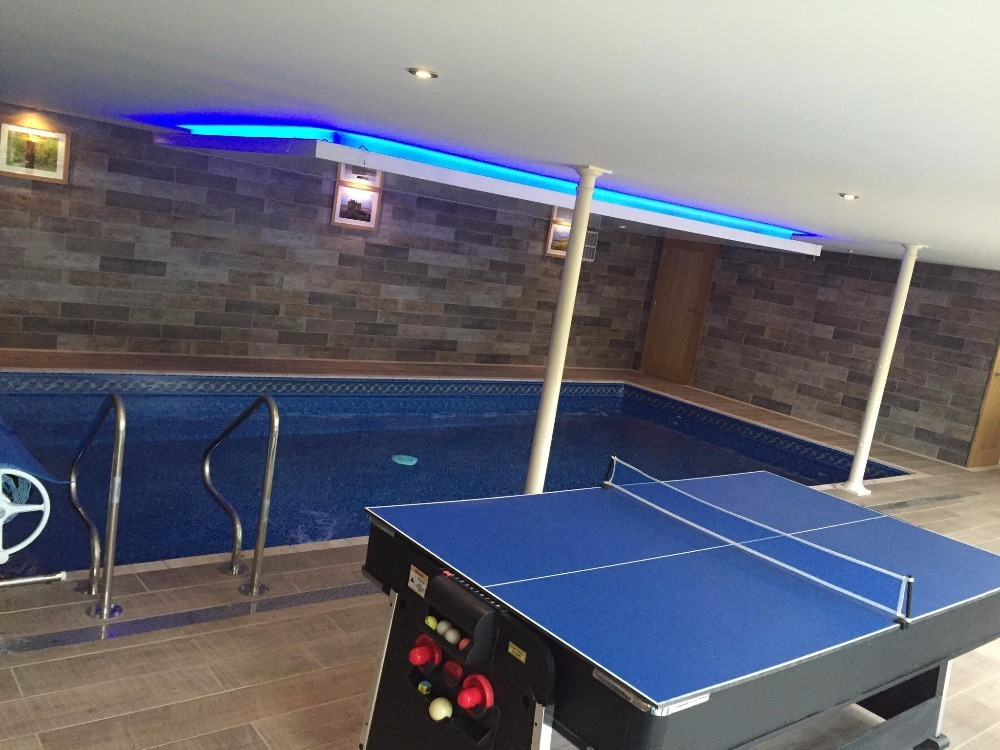 Trevithick Retreat Cornwall with Private indoor pool, hot tub, 6 people +  Dog. 32f7028bffac